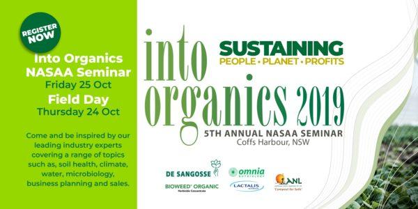 Into Organic 2019 Seminar